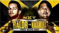 WWE NXT最新精彩比赛 芬尔巴洛 VS 中邑真埔 720P超清