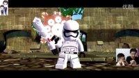 乐高星球大战:原力觉醒手机版第12期★第六章(下):袭击塔科达纳之逃离城堡和塔科达
