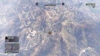 GTA5战斗机空中打击地面玩家车辆演示