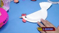 幼儿亲子手工制作---蛋糕盘--愤怒的小鸡!