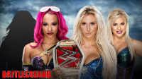 【中文解说】WWE决战之地2016!女子双打赛:夏洛