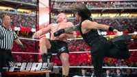 【WWE狂怒】伦斯石破天惊超人飞拳