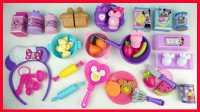 迪士尼米妮的厨房玩具,水果切切乐蛋糕切切看切割玩具。过家家煮饭炉子喜洋洋芭比娃娃爱探险的朵拉