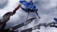 《长城》首曝预告前瞻 马特达蒙身披战衣长发造型现身 城楼画面显水墨质感