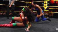 【中文解说】WWE女子撕衣-内衣肉搏赛:比莉凯伊