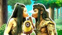 小黄人吐槽:石器时代人是怎样接吻的?