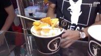【我们都爱吃】芒果冰淇淋卷-台湾美食