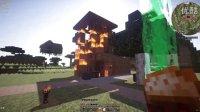 【冷小坏Minecraft】异世界:僵尸竖中指 我愤怒声称踏平僵尸古堡结果..村庄着火了?