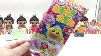 葫芦娃过家家日本食玩可食棉花糖玩具