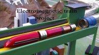 怎样DIY一个最简单的磁力火车?动动手,顺便复习一下物理知识