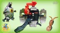 超酷大型奥特蛋巨兽基地玩具组 | 奥特曼玩具