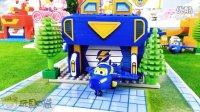 超级飞侠的大机库 酷飞的家 俏皮 乐迪 积木 乐高类 拼装玩具 拆箱 试玩