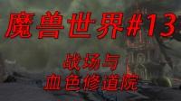 ☆魔兽世界☆人类战士成长流程实况EP13 战场 与 血色修道院