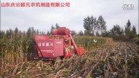 新型自走式玉米联合收获机