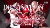 TNA12年DestinationX 最后站立赛 Chris Daniels vs. AJ Sty
