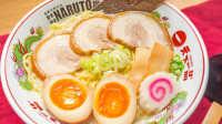 火影鸣人最爱一乐拉面!含豚骨汤头·叉烧肉·卤蛋做法丨绵羊料理