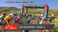 视频: 环西班牙自行车赛第14赛段最后冲刺