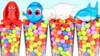 橙子乐园在日本 2016 迪士尼海底总动员 多利宝宝 章鱼等玩具 233