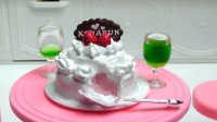 奶油蛋糕-日本食玩-万代迷你厨房 038