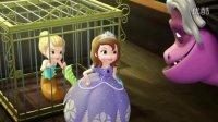 小公主苏菲亚小游戏之索菲亚制作城堡蛋糕|亲子玩游戏