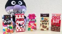 happy face 面包超人 2016 日本玩食 人气品牌巧克力套装 473