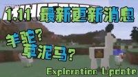 【Bread出品】Minecraft1.11要更新羊驼?草泥马?丨Minecraft我的世界小课堂