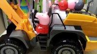 挖掘机视频表演大全 工程车 推土机 挖土机玩具视频 土方车玩具 汽车总动员原