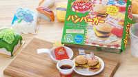 日本食玩可食 亲子制作面包超人汉堡包薯条