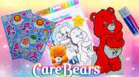 可爱的小熊图画书为孩子 艺术 孩子 幼儿Coloring Carebears
