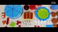 【创意玩具】生日蛋糕大集合 水果蜡烛草莓生日蛋糕切切看 切切乐