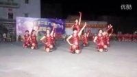 吴川市振文罗里健身队参加潘屋重阳节交流晚会《澎湃》