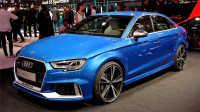 2017内外详解全新最便宜奥迪高性能RS3 Sedan Audi