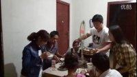 饭桶吃货爱美食2016中国吃播大胃王一家人吃四菜一汤