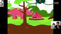侏罗纪恐龙总动员第3期:甲龙、梁龙、蹦床和烧烤等