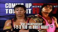 WWE94年旧年代稀有精彩比赛 Bret Hart VS The 123 Kid