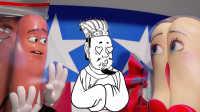 一分钟看完《香肠派对》 史上最污动画片