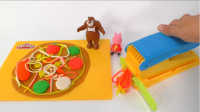 奇奇和悦悦的玩具 2016 甜品烘培套装做披萨 578
