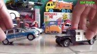 飞燕传媒 玩具车王国 警车跑车玩具赛车总动员 儿童玩具试玩测评视频
