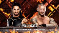 WWE地狱牢笼赛!王牌赛斯罗林斯vs毒蛇兰迪奥顿