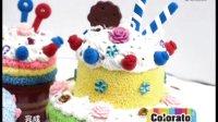卡乐淘超轻粘土DIY-蓝莓双层奶油蛋糕
