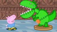 《小猪佩奇》小猪佩奇洗刷刷 粉红猪小妹 PeppaPig 粉红小猪 佩佩猪 亲子游戏 玩具视频 过家家玩具 健达奇趣蛋 水果切切看 挖掘机工程车 迪士尼乐园