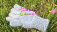 带指头男女手套的编织方法 84