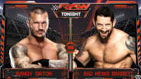 【中文解说】WWE罗曼雷恩斯偷袭毒蛇!兰迪奥顿vs韦德巴内特-佰威解说WWE2016年11月8日2K赛事剧情