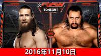 【中文解说】WWE2016年11月10日锁王之战!丹尼尔布
