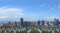 2016年厦门市千名老年人柔力球展示——思明区承办