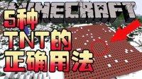 【Bread出品】5种TNT的正确用法丨Minecraft我的世界小课堂