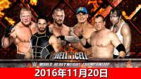 【中文解说】WWE2016年11月20日末日决战地狱牢笼!