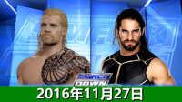 WWE2016年11月27日生涯模式:战神被激怒秒杀罗门伦