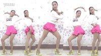 光脚现代舞教学 欢乐颂 蓝莓思洁广场舞 正背面舞蹈教学视频