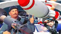 【屌德斯解说】 GMOD橄榄球模式 火箭飞人把自己射了出去